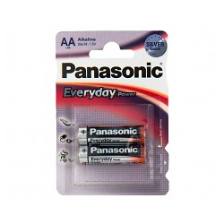 Батарейки Panasonic LR6 EVERYDAY power (2шт./уп.)